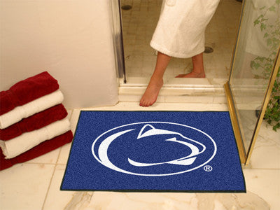 "NCAA Officially licensed Penn State All Star Mat 33.75""x42.5"" Join the All-Star team and decorate your home or office with a"