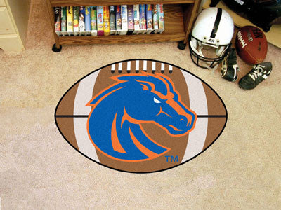 "NCAA Officially licensed Boise State University Football Mat 20.5""x32.5"" Protect your floor in style and show off your fando"