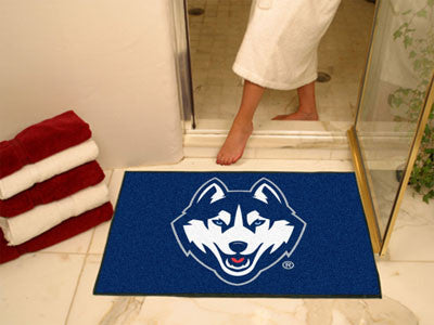 "NCAA Officially licensed University of Connecticut All Star Mat 33.75""x42.5"" Join the All-Star team and decorate your home o"