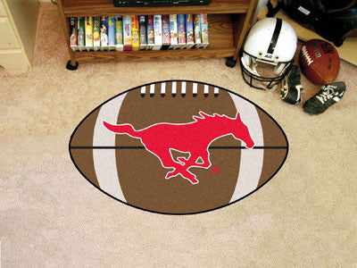 "NCAA Officially licensed Southern Methodist University Football Mat 20.5""x32.5"" Protect your floor in style and show off you"
