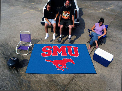 "NCAA Officially licensed Southern Methodist University Ulti-Mat 59.5""x94.5"" Start showing off your team pride with an Ulti-M"