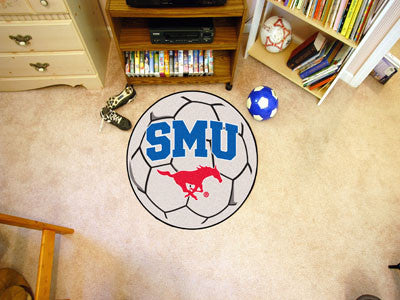 "NCAA Officially licensed Southern Methodist University Soccer Ball 27"" diameter Protect your floor in style and show off you"