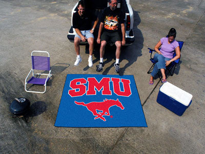 "NCAA Officially licensed Southern Methodist University Tailgater Mat 59.5""x71"" Start showing off your team pride with a Tail"