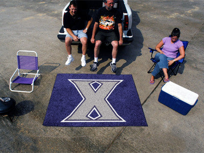 "NCAA Officially licensed Xavier University Tailgater Mat 59.5""x71"" Start showing off your team pride with a Tailgater Mat fr"