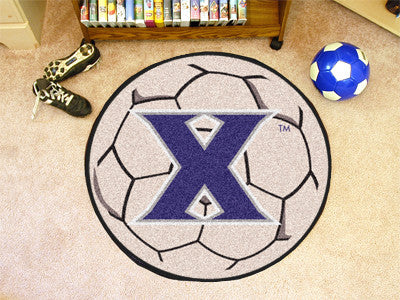 "NCAA Officially licensed Xavier University Soccer Ball 27"" diameter Protect your floor in style and show off your fandom wit"