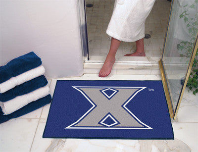 "NCAA Officially licensed Xavier University All Star Mat 33.75""x42.5"" Join the All-Star team and decorate your home or office"