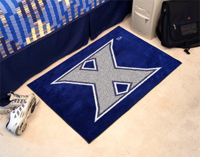 "NCAA Officially licensed Xavier University Starter Mat 19""x30"" Start showing off your team pride at home and the office with"