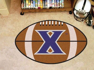 "NCAA Officially licensed Xavier University Football Mat 20.5""x32.5"" Protect your floor in style and show off your fandom wit"