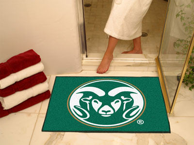 "NCAA Officially licensed Colorado State University All Star Mat 33.75""x42.5"" Join the All-Star team and decorate your home o"