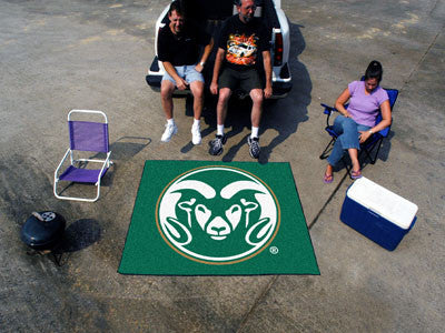 "NCAA Officially licensed Colorado State University Tailgater Mat 59.5""x71"" Start showing off your team pride with a Tailgate"
