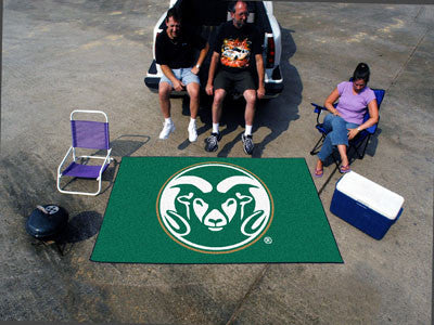 "NCAA Officially licensed Colorado State University Ulti-Mat 59.5""x94.5"" Start showing off your team pride with an Ulti-Mat f"