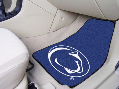 "NCAA Officially licensed Penn State 2-pc Carpet Car Mat Set 17""x27"" Show your fandom even while driving with Carpet Car Mats"