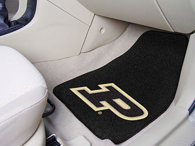 "NCAA Officially licensed Purdue University 2-pc Carpet Car Mat Set 17""x27"" Show your fandom even while driving with Carpet C"