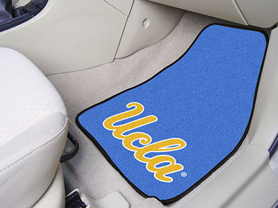 "NCAA Officially licensed University of California - Los Angeles (UCLA) 2-pc Carpet Car Mat Set 17""x27"" Show your fandom even"