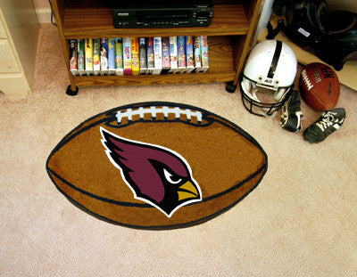 "NFL Officially licensed products Arizona Cardinals Football Rug 20.5""x32.5"" Protect your floor in style and show off your fa"
