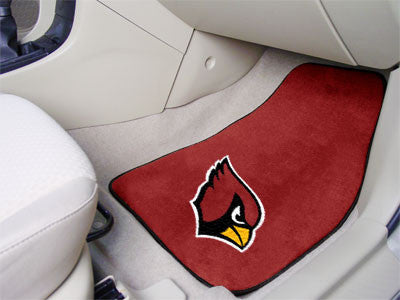 "NFL Officially licensed products Arizona Cardinals 2-pc Carpeted Car Mats 17""x27"" Show your fandom even while driving with C"
