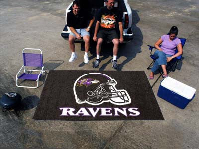 NFL Officially licensed products Baltimore Ravens Ulti-Mat 5'x8' Start showing off your team pride with an Ulti-Mat from SLS