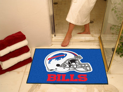 "NFL Officially licensed products Buffalo Bills All-Star Mat 33.75""x42.5"" Join the All-Star team and decorate your home or of"