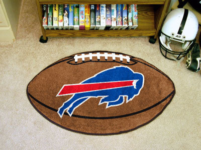 "NFL Officially licensed products Buffalo Bills Football Rug 20.5""x32.5"" Protect your floor in style and show off your fandom"