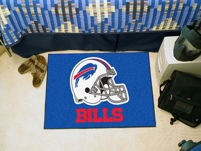 "NFL Officially licensed products Buffalo Bills Starter Rug 19""x30"" Start showing off your team pride at home and the office"