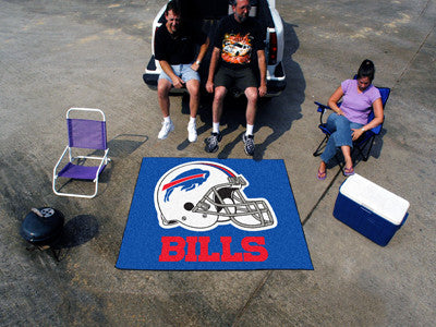 NFL Officially licensed products Buffalo Bills Tailgater Rug 5'x6' Start showing off your team pride with a Tailgater Mat fr