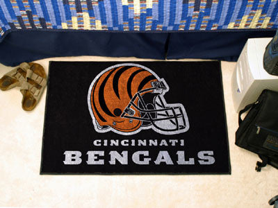"NFL Officially licensed products Cincinnati Bengals Starter Rug 19""x30"" Start showing off your team pride at home and the of"