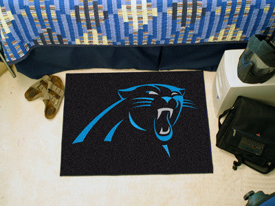 "NFL Officially licensed products Carolina Panthers Starter Rug 19""x30"" Start showing off your team pride at home and the off"