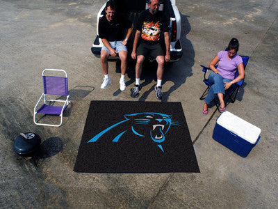 NFL Officially licensed products Carolina Panthers Tailgater Rug 5'x6' Start showing off your team pride with a Tailgater Ma