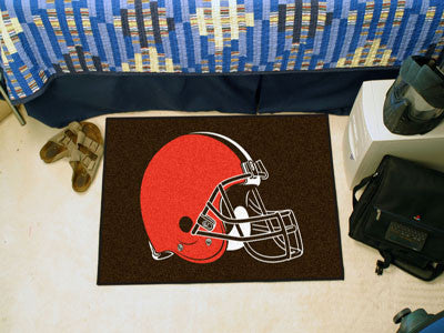 "NFL Officially licensed products Cleveland Browns Starter Rug 19""x30"" Start showing off your team pride at home and the offi"