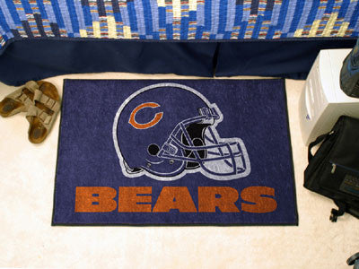"NFL Officially licensed products Chicago Bears Starter Rug 19""x30"" Start showing off your team pride at home and the office"