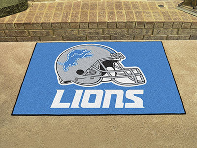 "NFL Officially licensed products Detroit Lions All-Star Mat 33.75""x42.5"" Join the All-Star team and decorate your home or of"