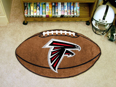 "NFL Officially licensed products Atlanta Falcons Football Rug 20.5""x32.5"" Protect your floor in style and show off your fand"