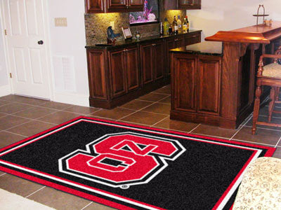"NCAA Officially licensed North Carolina State University 5x8 Rug 59.5""x88"" Show off your team pride in a big way! 5'x8' ultr"