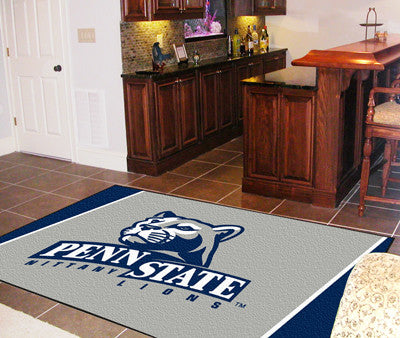 "NCAA Officially licensed Penn State 4x6 Rug 44""x71"" Show off your team pride in a big way! 4'x6' ultra plush area rugs won't"