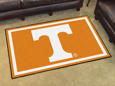 "NCAA Officially licensed University of Tennessee 4x6 Rug 44""x71"" Show off your team pride in a big way! 4'x6' ultra plush ar"