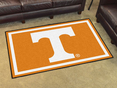 "NCAA Officially licensed University of Tennessee 5x8 Rug 59.5""x88"" Show off your team pride in a big way! 5'x8' ultra plush"