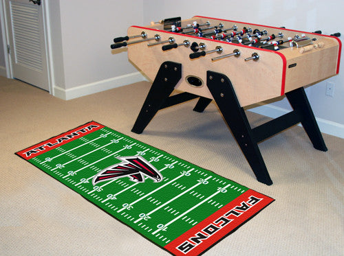 "NFL Officially licensed products Atlanta Falcons Runner 30""x72"" Are you a die-hard football fan that likes to show off your"