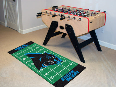 "NFL Officially licensed products Carolina Panthers Runner 30""x72"" Are you a die-hard football fan that likes to show off you"