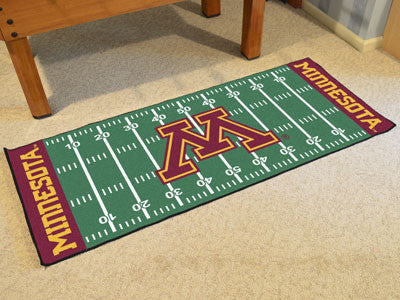"NCAA Officially licensed University of Minnesota Football Field Runner 30""x72"" Are you a die-hard football fan that likes to"