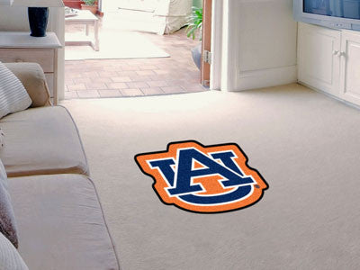 "NCAA Officially licensed Auburn University Mascot Mat 33.6"" x 30"" Looking for a unique rug to decorate your home or office w"