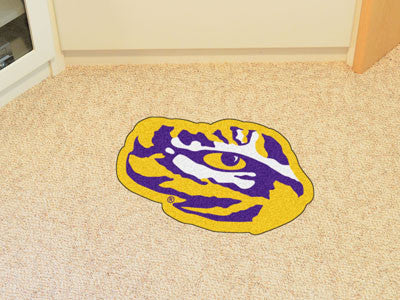 "NCAA Officially licensed Louisiana State University Mascot Mat 40"" x 26.8"" Looking for a unique rug to decorate your home or"