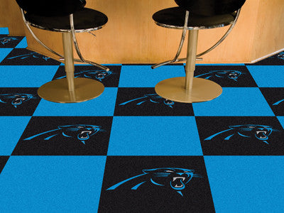 "NFL Officially licensed products Carolina Panthers 18""x18"" Carpet Tiles Want to show off your team pride in a big way? Carpe"