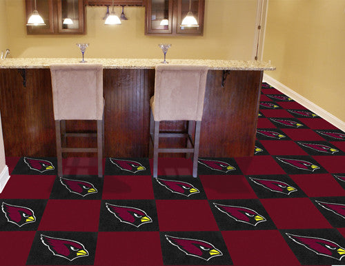 "NFL Officially licensed products Arizona Cardinals 18""x18"" Carpet Tiles Want to show off your team pride in a big way? Carpe"