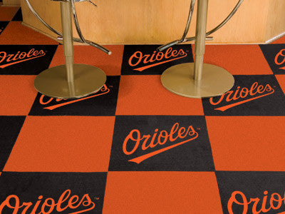 MLB Officially licensed products  Want to show off your team pride in a big way? Carpet Tiles are great for Man Caves, game