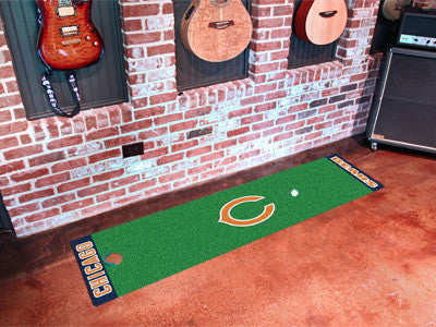 "NFL Officially licensed products Chicago Bears Putting Green Runner 18""x72""  Become a pro and perfect your short game with G"