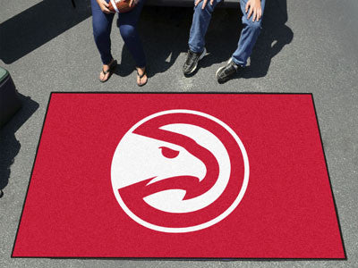 NBA Officially licensed products Atlanta Hawks Ulti-Mat 5'x8' Start showing off your team pride with an Ulti-Mat from Sports