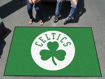 NBA Officially licensed products Boston Celtics Ulti-Mat 5'x8' Start showing off your team pride with an Ulti-Mat from Sport