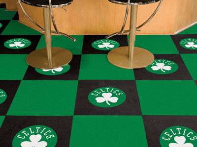 "NBA Officially licensed products Boston Celtics 18""x18"" Carpet Tiles Want to show off your team pride in a big way? Carpet T"