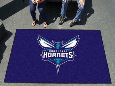NBA Officially licensed products Charlotte Hornets Ulti-Mat 5'x8' Start showing off your team pride with an Ulti-Mat from Sp