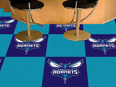 "NBA Officially licensed products Charlotte Hornets 18""x18"" Carpet Tiles Want to show off your team pride in a big way? Carpe"